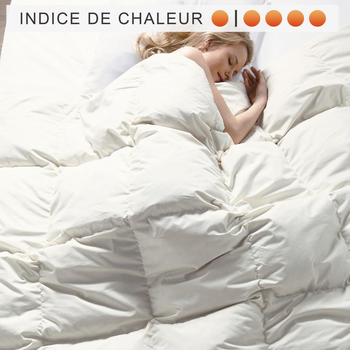 Couette Naturelle 4 Saisons Pyrenex Belle Literie Blanc 3suisses