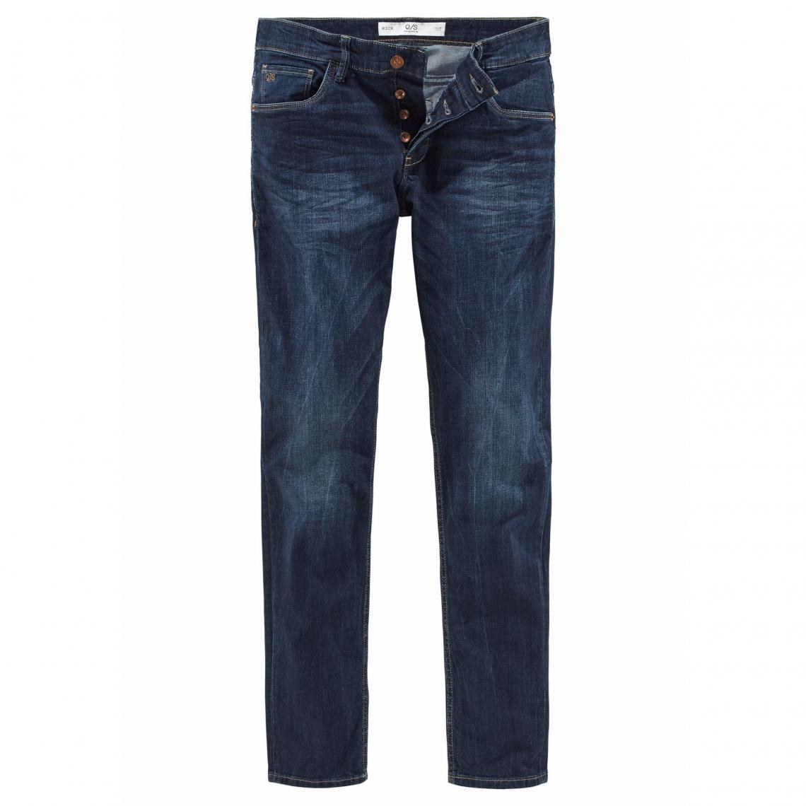 c0905d358e43 Jean slim fit homme QS - Bleu | 3 SUISSES