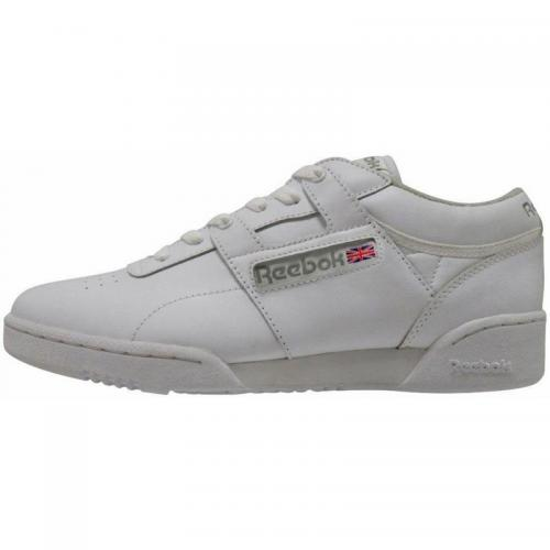 Reebok - Sneakers Workout Low homme Reebok - Blanc - Chaussures homme