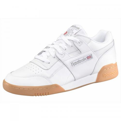 Reebok - Sneakers Reebok classic Workout  plus Unisexe  - Blanc Chiné - Promos sport homme