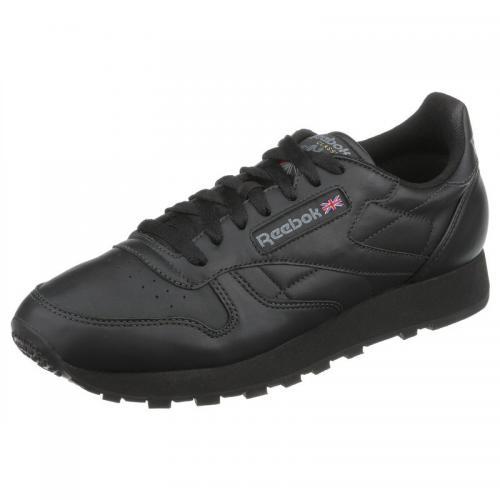 b0d55544c529d0 Reebok Classic Leather chaussures de sport homme - Noir   3Suisses
