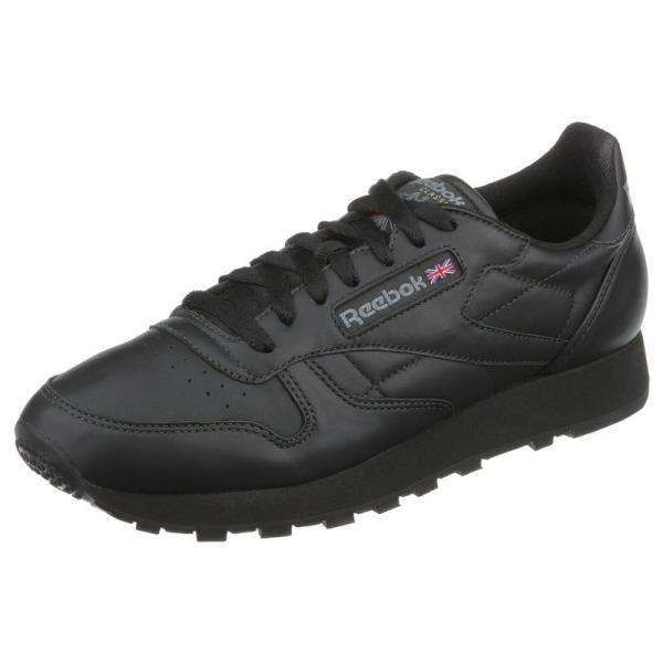 Reebok Classic Leather chaussures de sport homme - Noir Reebok Homme 6dc0cce70b7e