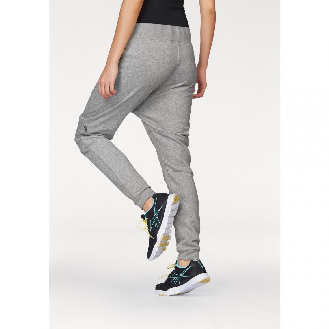 Pantalon de jogging sport femme Reebok - Gris  9400900e204