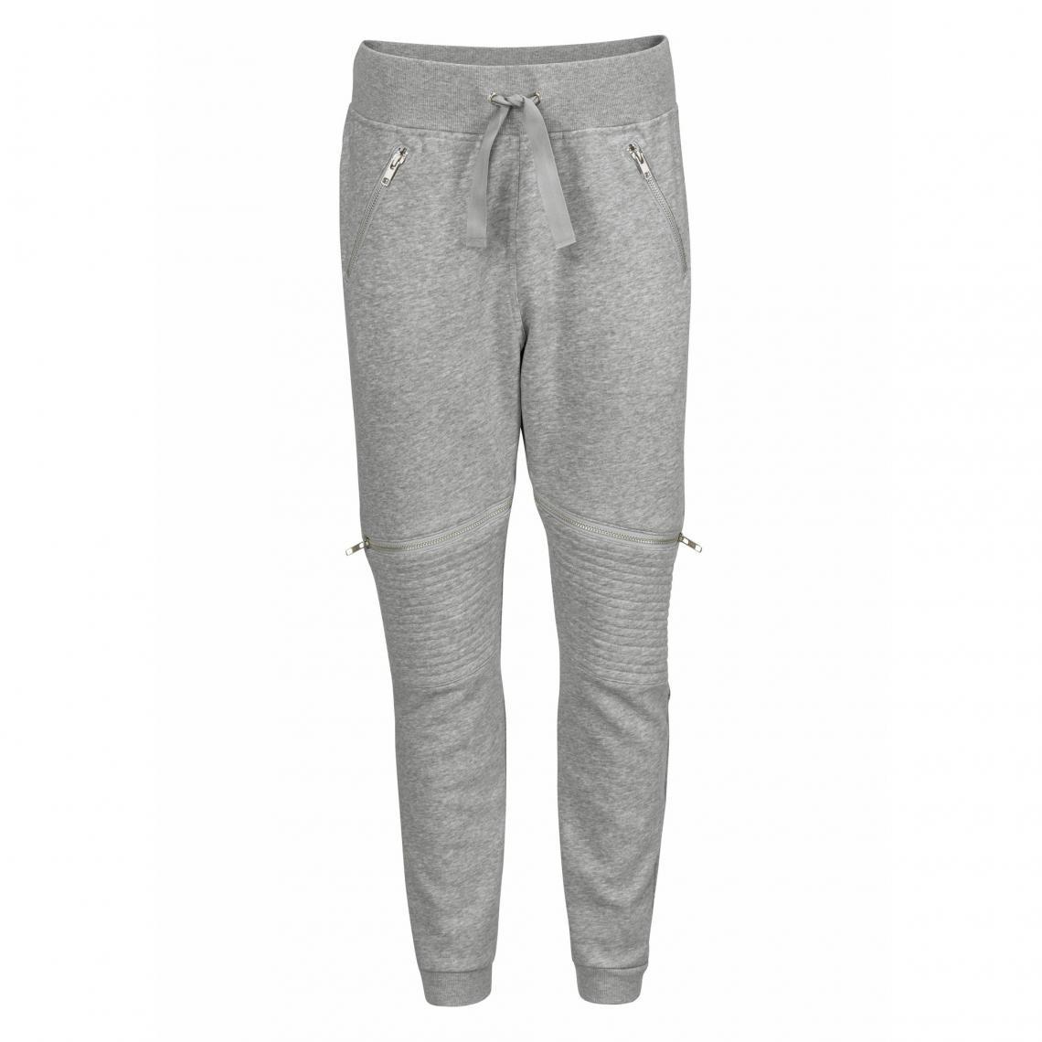 7976732e590b4 Pantalon de jogging sport femme Reebok - Gris Reebok