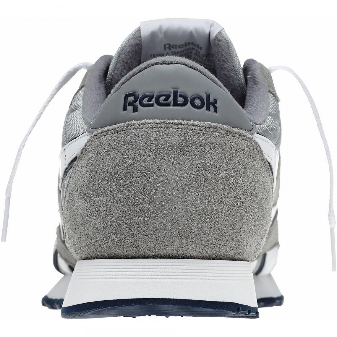 Blanc3suisses Sport Chaussures Nylon Reebok Classic Gris Homme De CxeodB