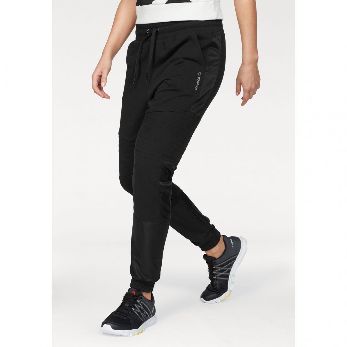 Pantalon sport femme Moto Jogger Reebok Noir 1 Avis