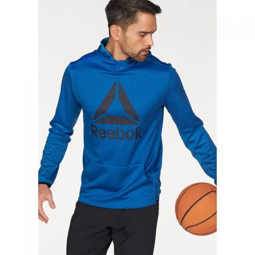 Reebok - Sweat manches longues à capuche homme Workout Ready Elitage Group Reebok - Bleu - Vêtement de sport