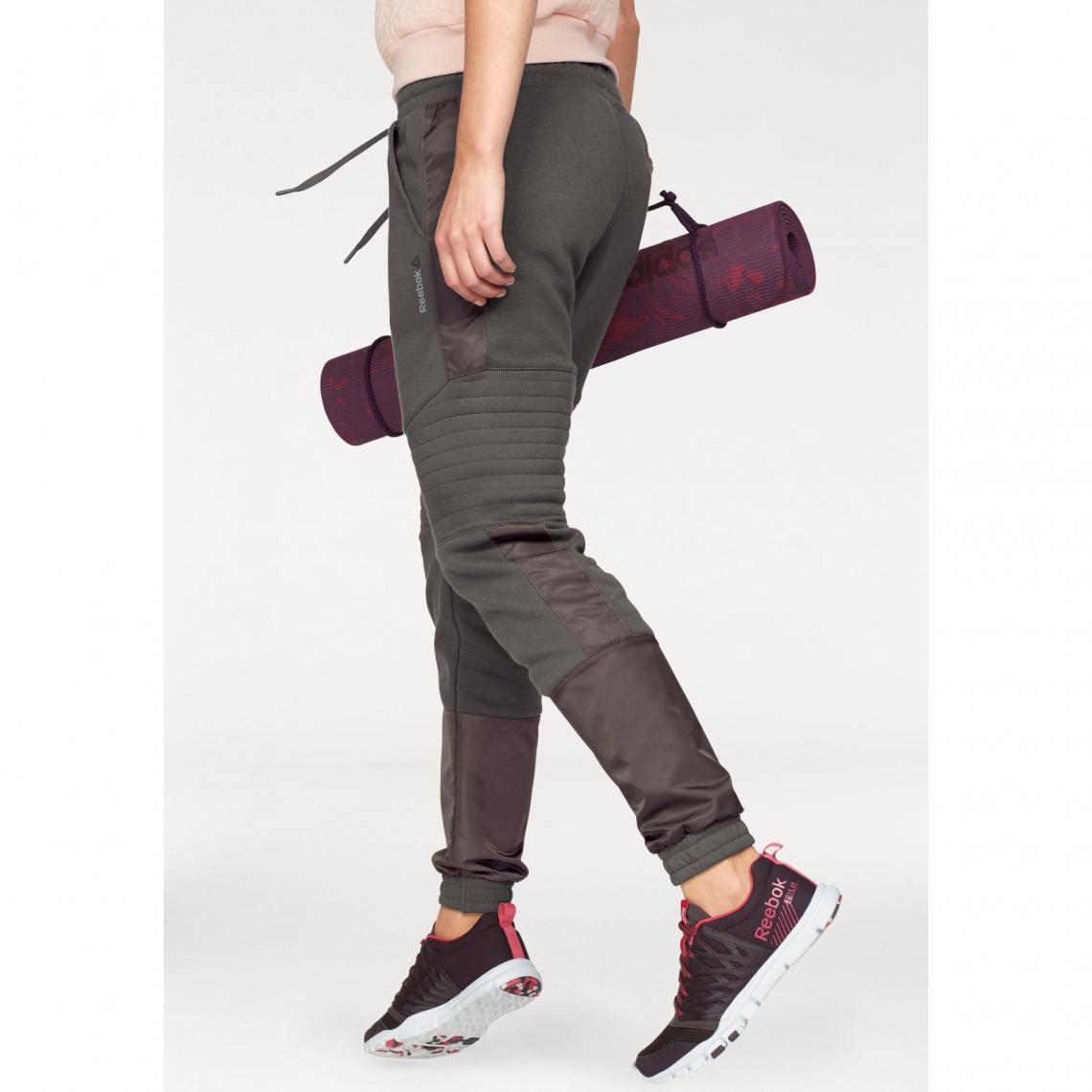 Sport Reebok 3suisses Moto Femme Jogger Pantalon Marron 6wTx1qd10 54d158fdbd7