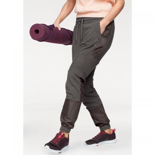952ab56bcac Reebok - Pantalon sport femme Moto Jogger Reebok - Marron - Pantalons de  jogging femme