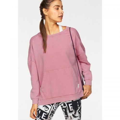 Reebok - Sweat manches longues col rond Favorite oversized Crew Reebok - Rose - Promos Sport Femme