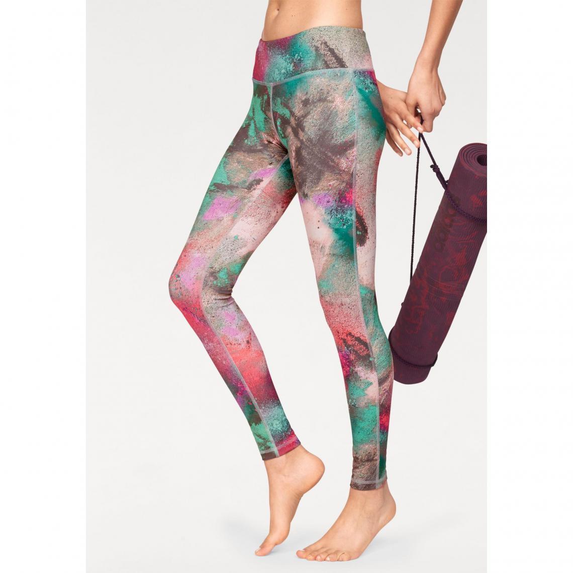Legging femme yoga Speedwick® Reebok - Multicolore Reebok Femme e7c9273b5ae