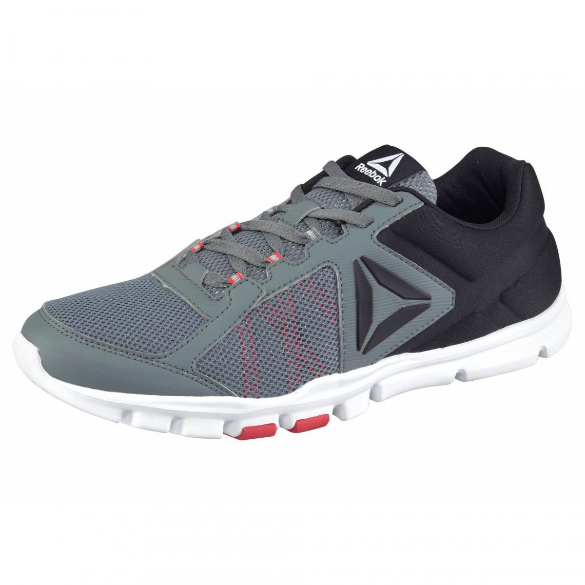 b79192207f568 Reebok Yourflex Train 9.0 chaussures de sport pour homme - Gris Reebok Homme