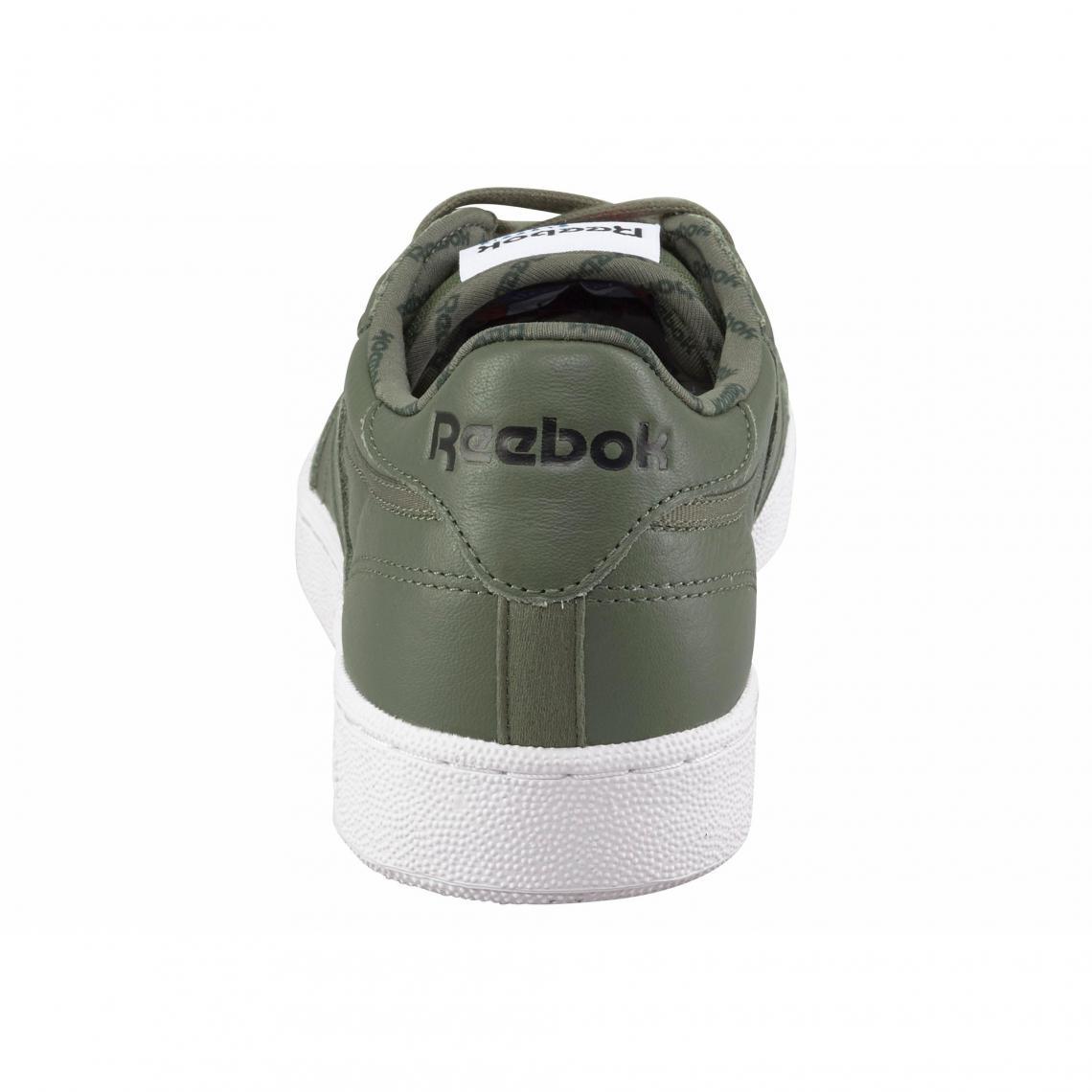 bdb2367a3a56a Baskets Reebok Cliquez l image pour l agrandir. Reebok Club C85 SO  chaussures de sport homme - Vert Olive Reebok