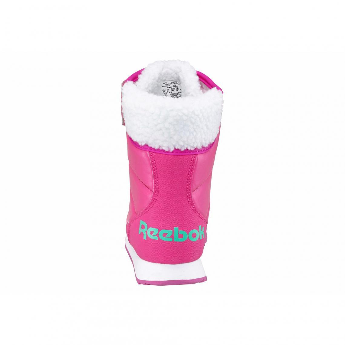 fille Bottes Prime Reebok neige Snow de Print Rose Vif mn0wN8Ov