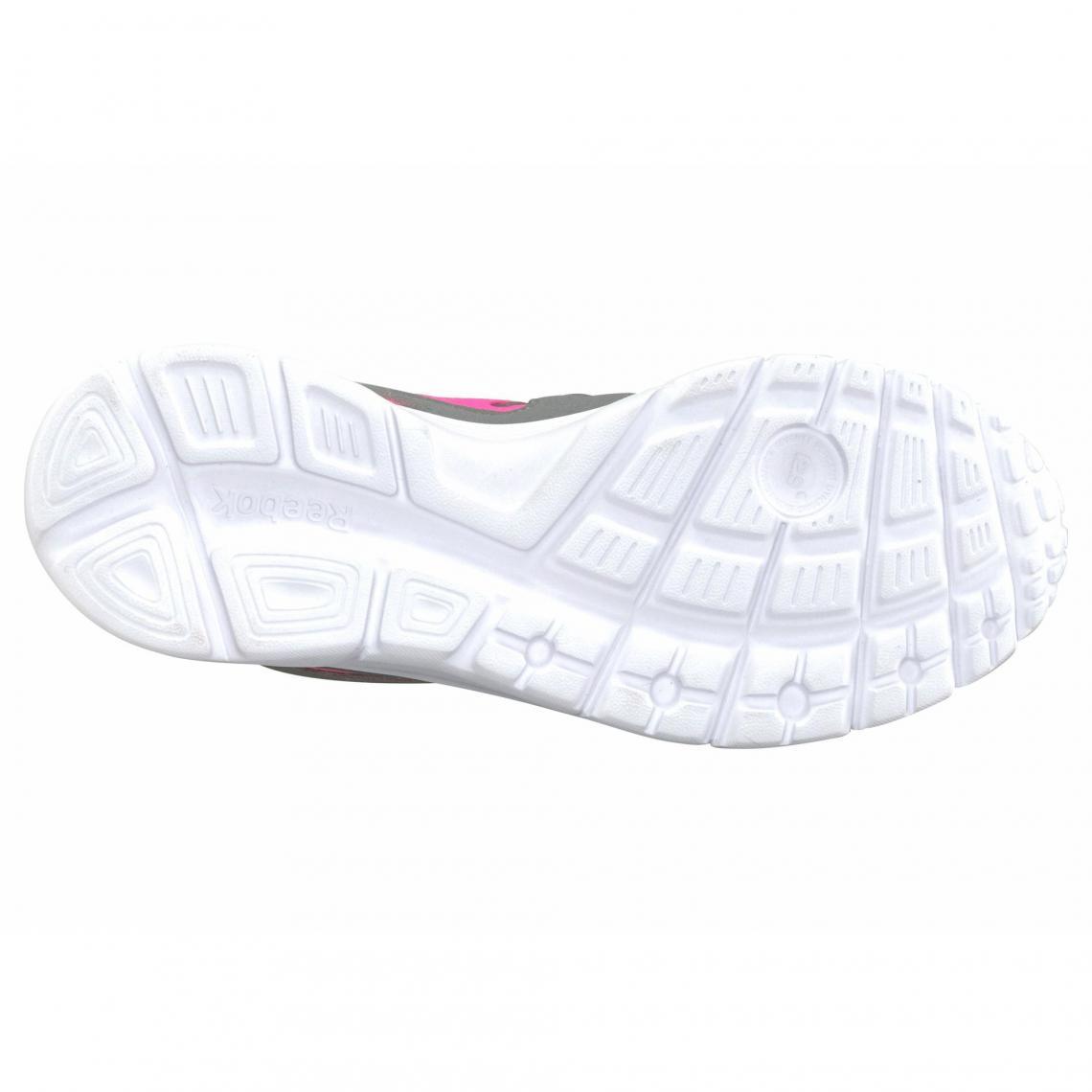watch dcbdb c5b9f Sneaker femme Run Supreme 3.0 Wmn Reebok - Gris - Rose Vif Reebok