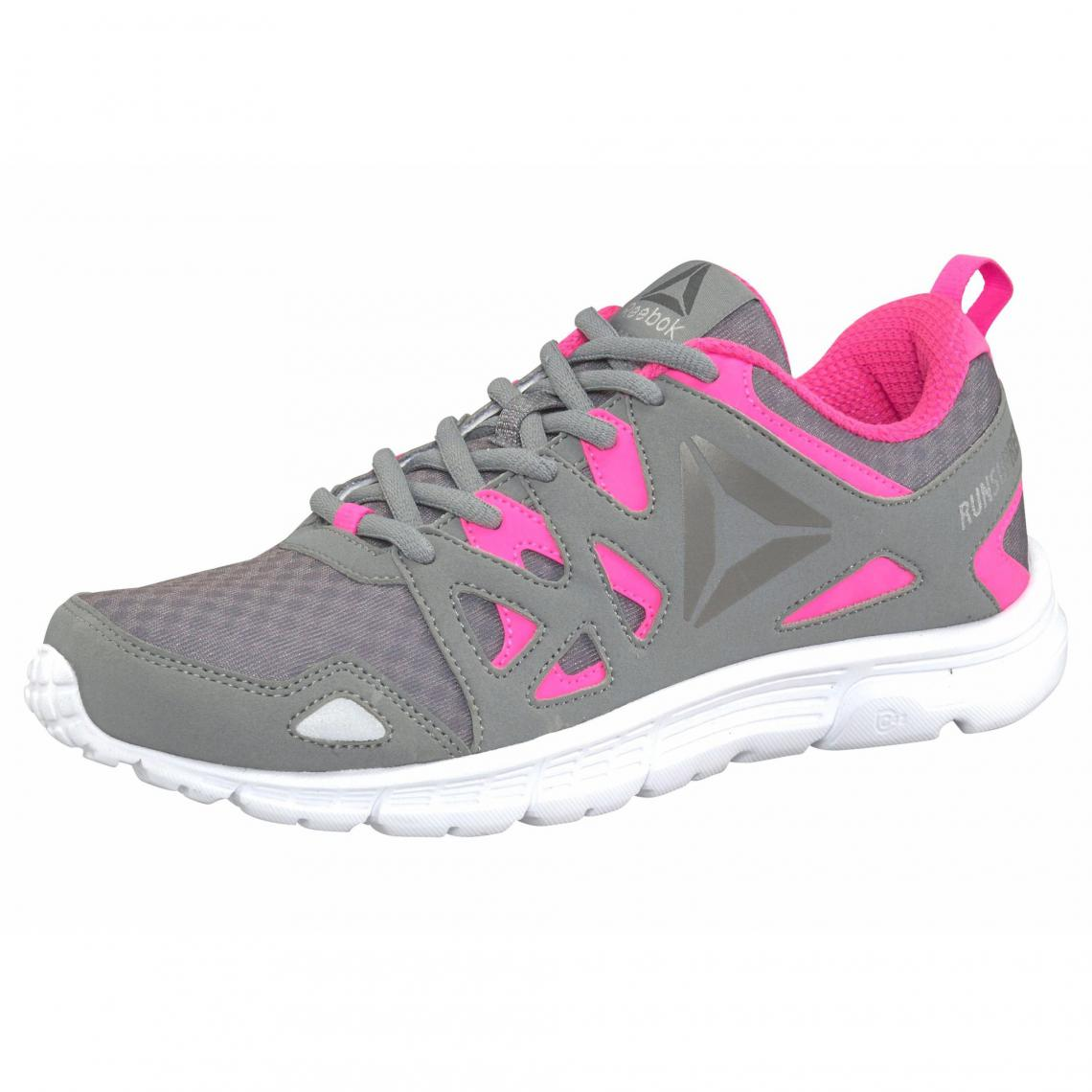 wholesale dealer c4fd0 a5066 Sneaker femme Run Supreme 3.0 Wmn Reebok - Gris - Rose Vif Reebok Femme