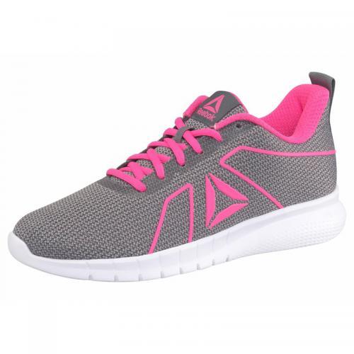 0b8999e6e9e74 Reebok - Reebok Instalite Pro chaussures de running femme - Gris - Rose Vif  - Reebok