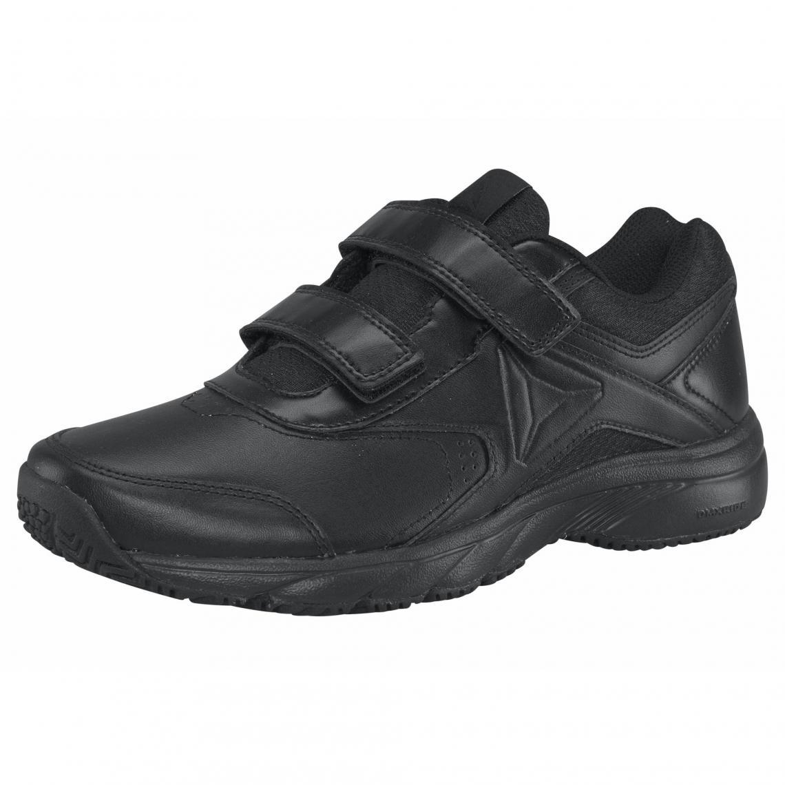 Sneakers de marche en cuir femme Reebok Noir