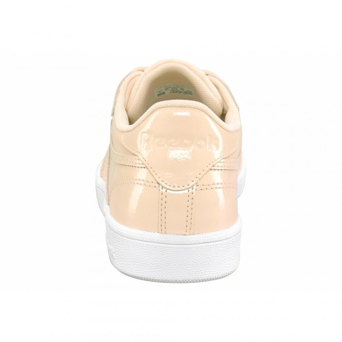 3b63fa51c58 Sneakers en cuir verni brillant femme Classique Club C85 Patent Reebok - Rose  Reebok