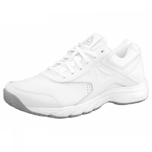 9da205232676d Reebok - Chaussures de marche cuir femme Wmns Work n Cushion 3.0 Reebok -  Blanc