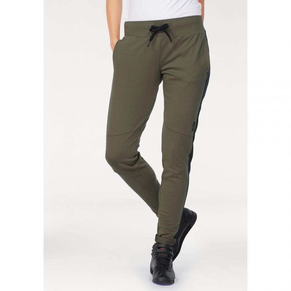 Pantalon de jogging femme Training Supply Slim Reebok - Noir Reebok Femme 7623fc592ef