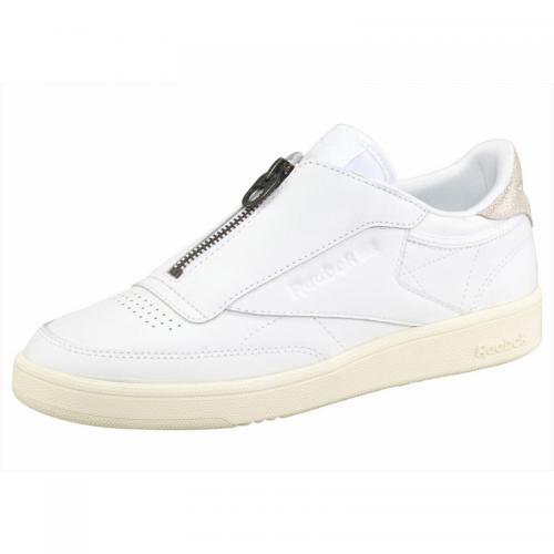 725003e35f20a Reebok - Chaussures de sport femme Reebok Club C85 Zip - Blanc - Reebok