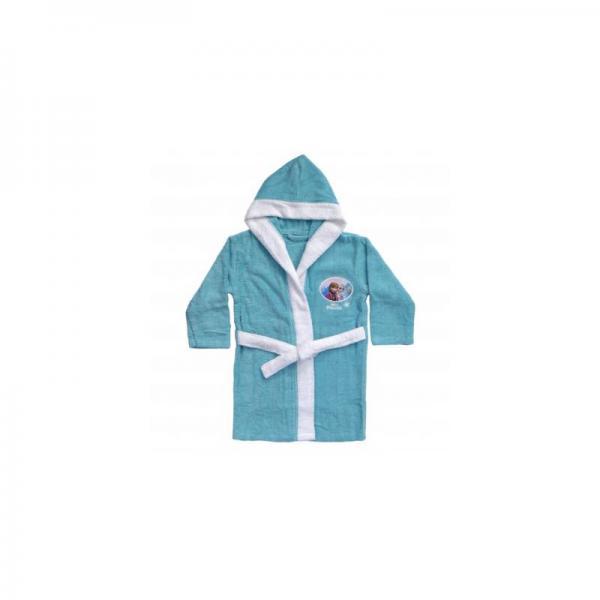 0d5b45e71f33c Peig à capuche coton Reine des neiges Snow - Bleu   3 SUISSES