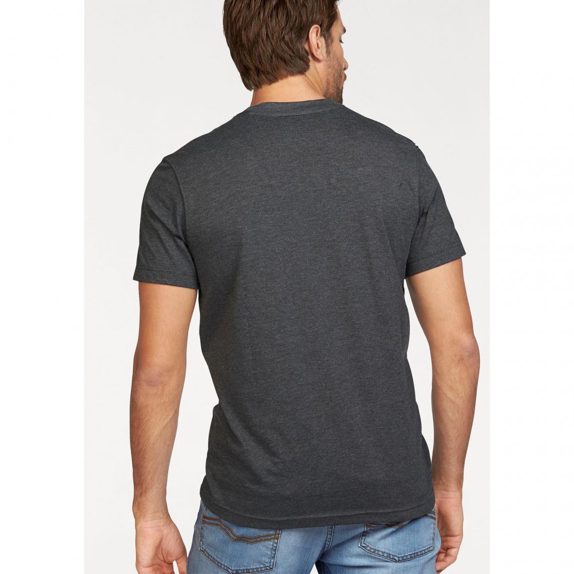 Tee shirt manches courtes imprimé vintage homme Rhode Island