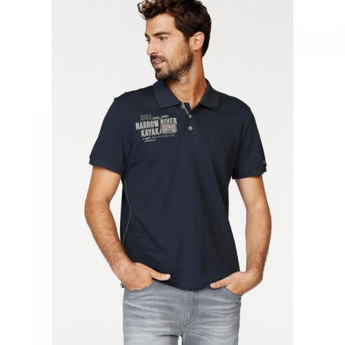 Rhode Island - Polo coton piqué manches courtes homme Rhode Island - Marine - Promotions Homme