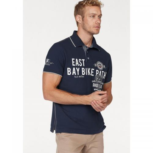 Rhode Island - Polo manches courtes homme Rhode Island - Marine - Polos homme