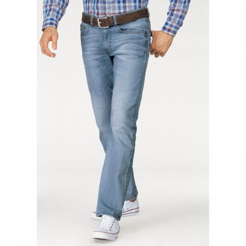 Rhode Island - Jean slim 5 poches stretch L32 homme Rhode Island - Bleu - Promotions