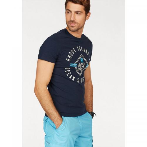 Rhode Island - T-shirt manches courtes homme Rhode Island - Marine - T-shirts homme