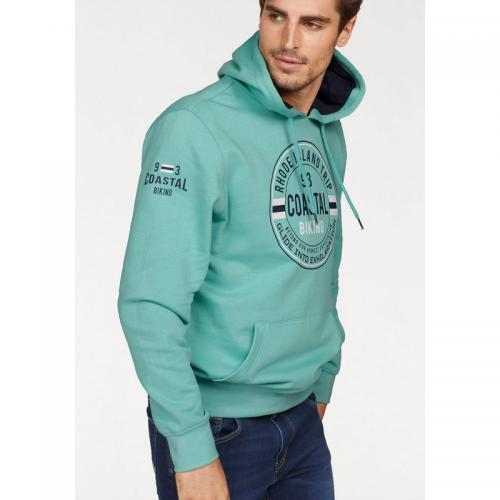 Rhode Island - Sweat à capuche manches longues homme Rhode Island - Marine - Pulls homme