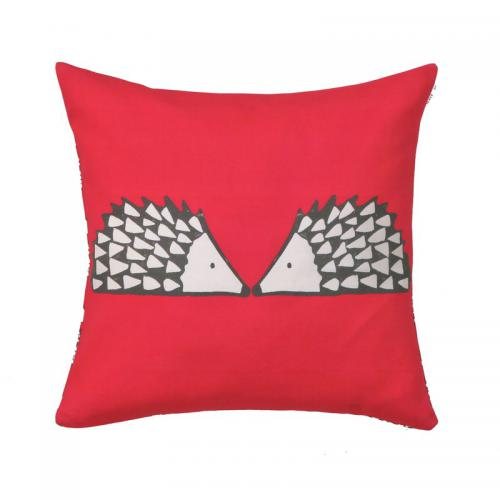 Scion Living - Coussin coton imprimé Spike Scion Living - Fuchsia - Coussins