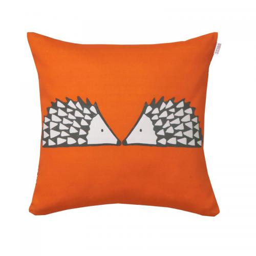 Scion Living - Coussin coton imprimé Spike Scion Living - Mandarine - Coussins