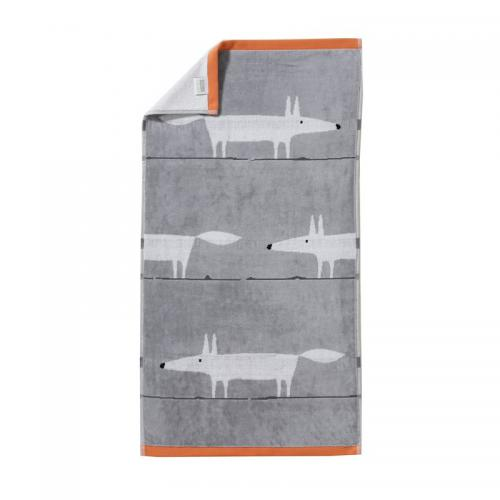 Scion Living - Serviette bain Mr.Fox éponge 550 g/m² Scion Living - Gris Perle - Serviettes de toilette