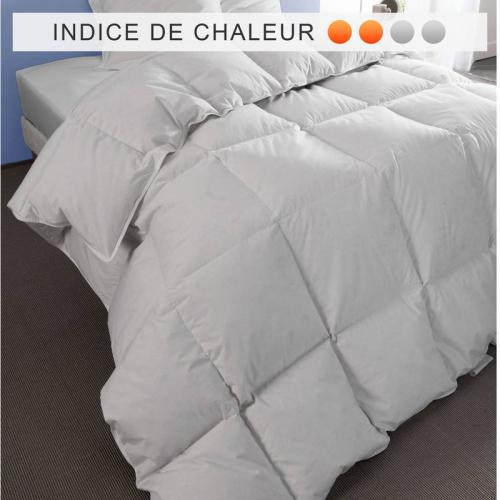 Selenia - Couette naturelle 280 g/m² SELENIA - Blanc - Couettes adulte