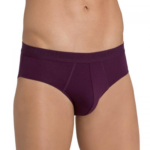 Sloggi Men - Lot de 2 slips homme EverNew Sloggi - Violet - Sous-vêtements homme