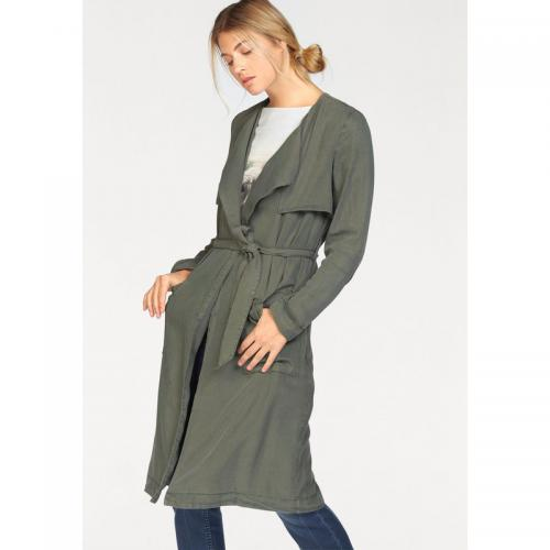 S.Oliver - Trench-coat long femme Red Label S.Oliver - Vert - Trench