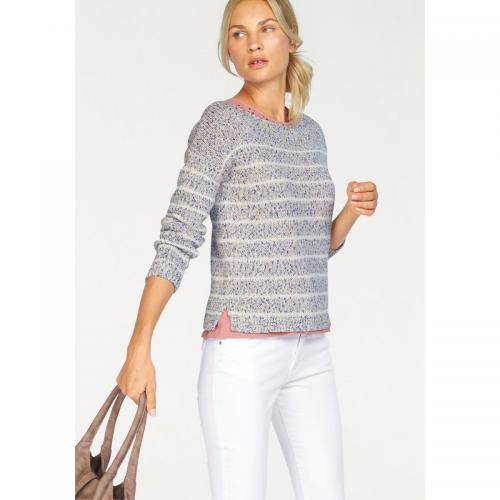 S.Oliver - Pull rayé col rond manches longues femme S. Oliver Red Label - Multicolore - S.Oliver