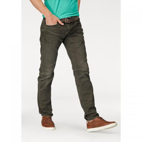 S.Oliver - Jean slim fit homme S. Oliver Red Label - Vert - Promos vêtements homme