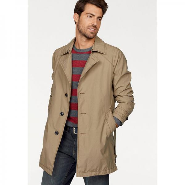 Trench court homme S. Oliver - Beige S.Oliver Homme