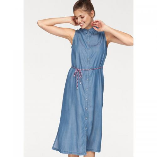 S.Oliver - Robe denim sans manches femme S. Oliver - Blue Denim - S.Oliver