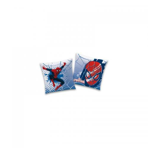 Spiderman - Coussin carré Spiderman Webhead - Bleu - Linge de maison