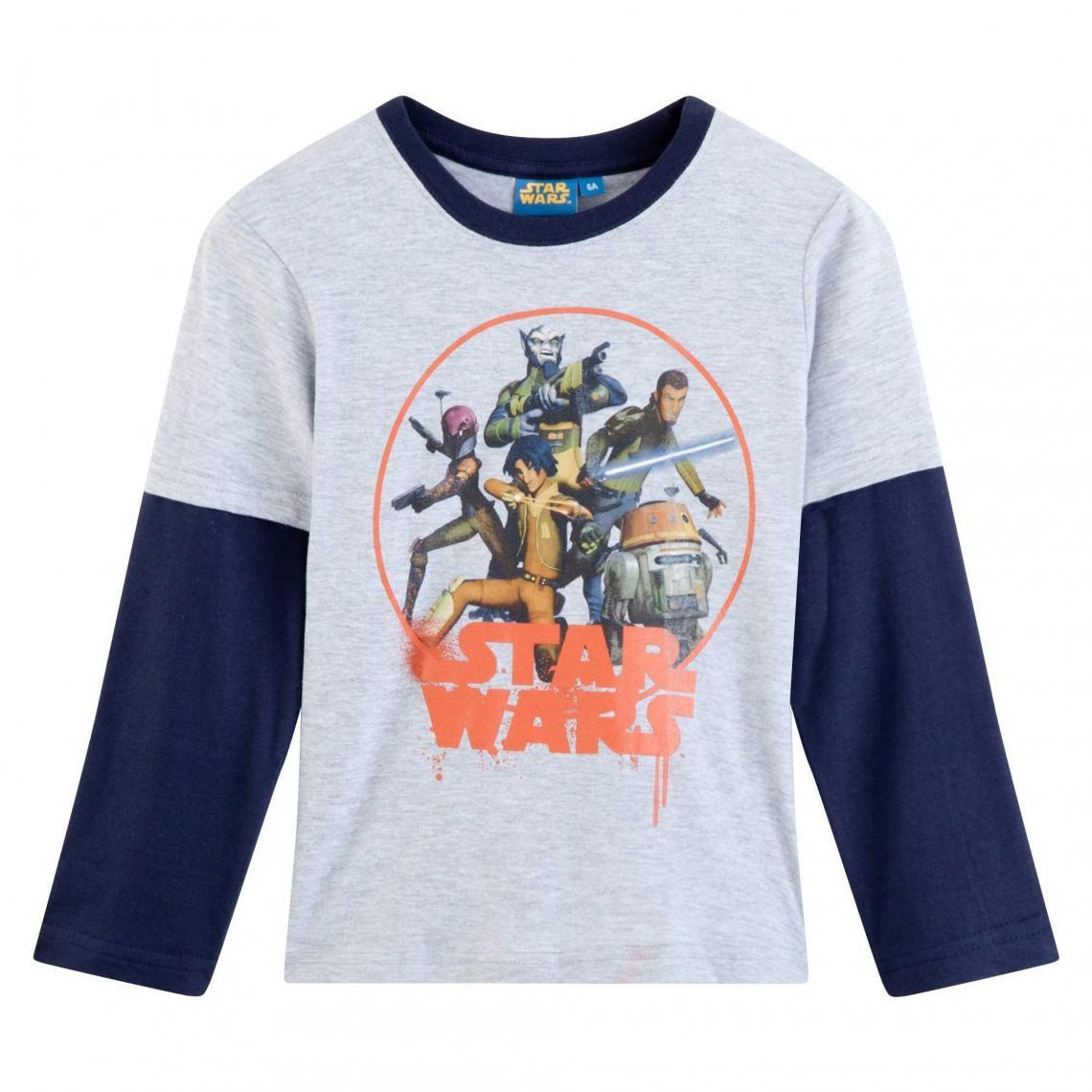 d958836fb8192 Pyjama garçon coton Star Wars - Blanc | 3 SUISSES