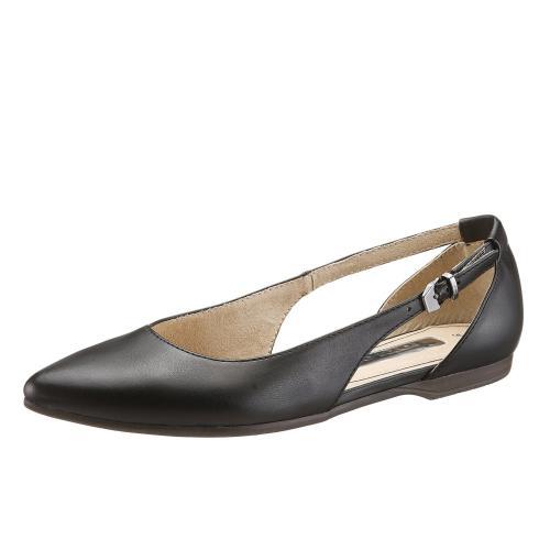 2df4c3aaa8 Tamaris - Ballerines pointues à boucle Tamaris - Noir - Chaussures femme