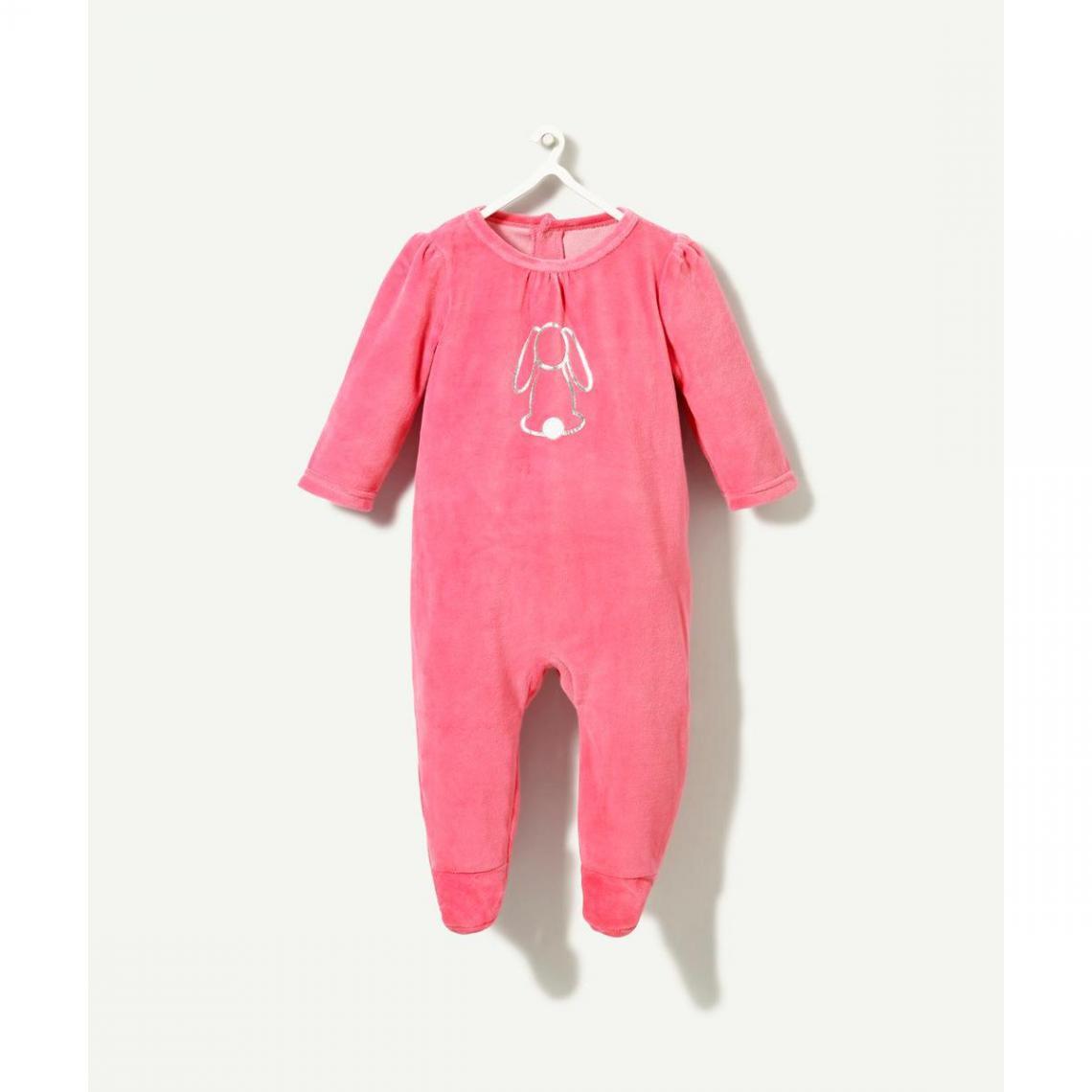 Pyjama velours rose - 3Suisses