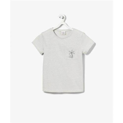f790dfdde97 Tape a l oeil - T-shirt à Manches Courtes et poche brodée Tape