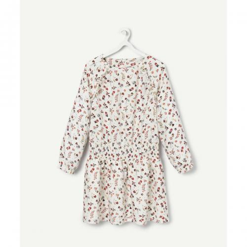 Tape a l oeil - ROBE FLEURIE FILLE TAPE   L - Robes fille e3d513eecd6