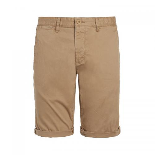 Teddy Smith - Bermuda chino homme Teddy Smith - Marron - Bermuda / Short